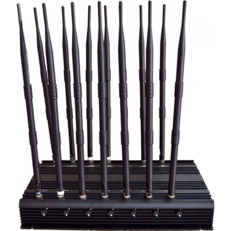 296,95 € Бесплатная доставка | Блокаторы мобильных телефонов 14 антенн. Регулируемый мощный блокатор сигналов. Блокировка всех телефонных полос GPS GSM