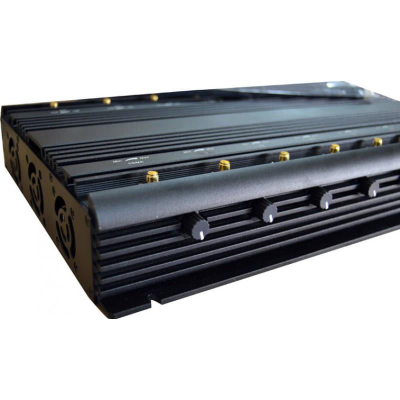 296,95 € 免费送货   手机干扰器 14天线。可调节强大的信号阻断器。所有电话频段均发出阻塞信号 GPS GSM