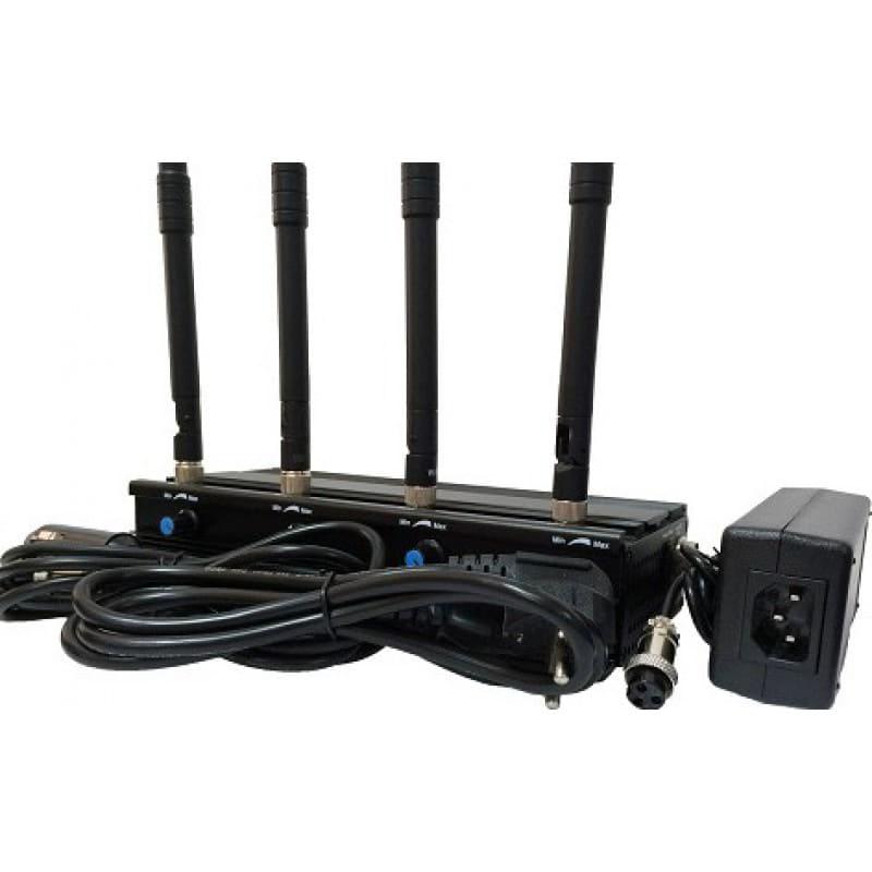 223,95 € 免费送货 | WiFi干扰器 可调节信号阻断器。 4个天线 WiFi 5.2G