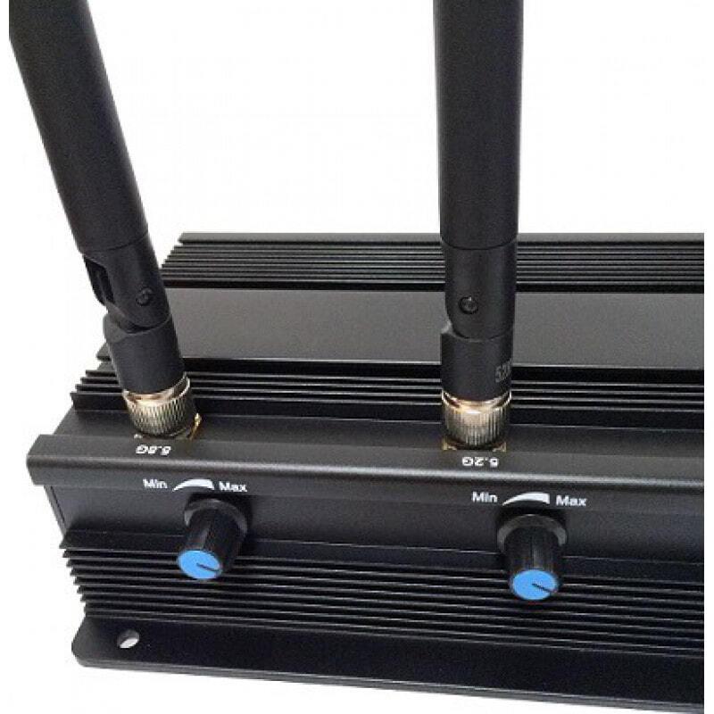223,95 € Envoi gratuit | Bloqueurs de WiFi Bloqueur de signal réglable. 4 antennes WiFi 5.2G