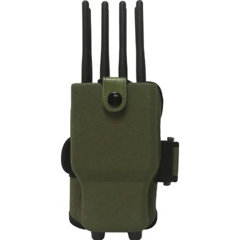 161,95 € Envoi gratuit | Bloqueurs de Téléphones Mobiles Bloqueur de signal portable. 8 bandes. Tous les téléphones portables bloquent les signaux. Étui en nylon GPS Handheld