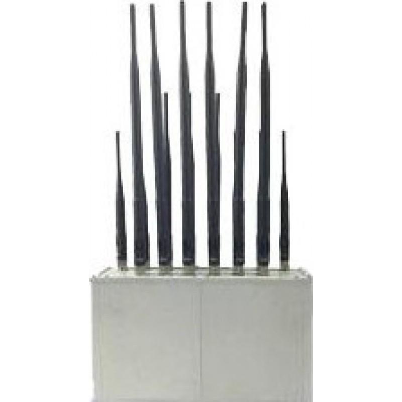 238,95 € Envoi gratuit | Bloqueurs de Téléphones Mobiles 16 bandes. Pleine bande 135-2600MHz. Bloqueur de signal de bureau Cell phone GSM Desktop