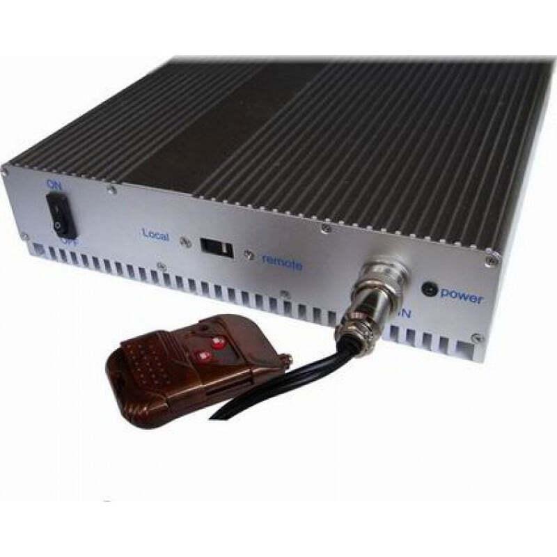 87,95 € Kostenloser Versand | Handy-Störsender 5 Bänder. Einstellbarer Signalblocker mit Fernbedienung Cell phone 3G