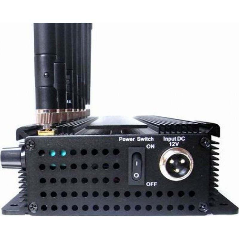 186,95 € Kostenloser Versand   Handy-Störsender 8 Bänder. Einstellbarer leistungsstarker multifunktionaler Signalblocker GPS 3G