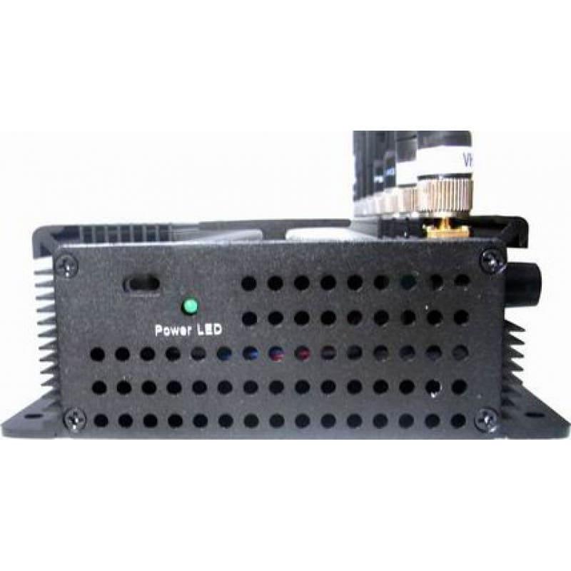 186,95 € 免费送货 | 手机干扰器 8个乐队。可调节强大的多功能信号阻断器 GPS 3G