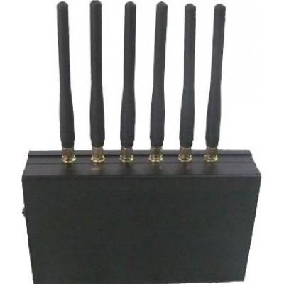 6 bandas. Todos os controles remotos bloqueador de sinal Radio Frequency