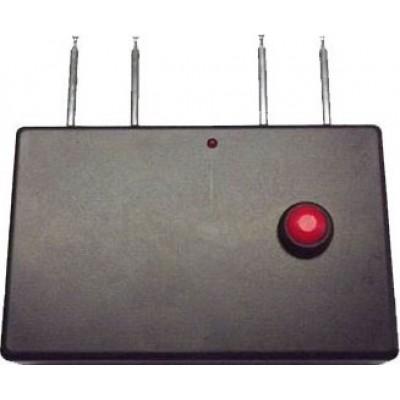 Portable quad band signal blocker Radio Frequency