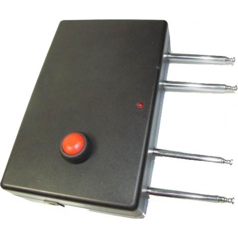 71,95 € Бесплатная доставка   Блокаторы дистанционного управления Портативный четырехполосный блокатор сигналов Radio Frequency 315MHz Portable