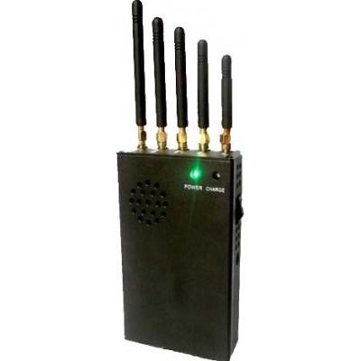 Portable signal blocker Cell phone