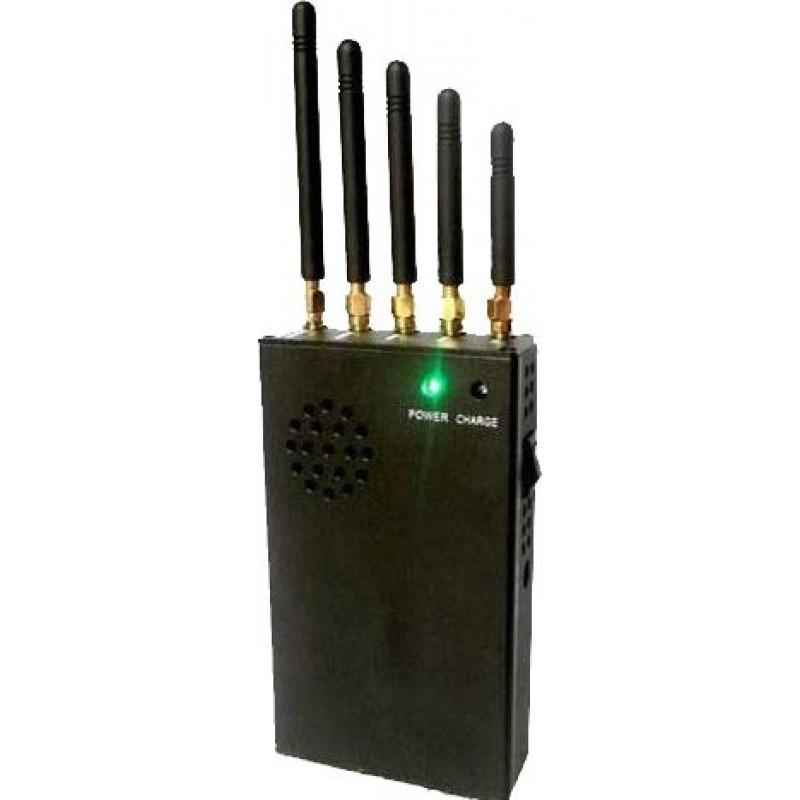 82,95 € Kostenloser Versand   Handy-Störsender 3W tragbarer Signalblocker Cell phone 3G Portable