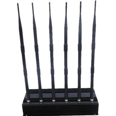 6 antennes bloqueur de signal GPS