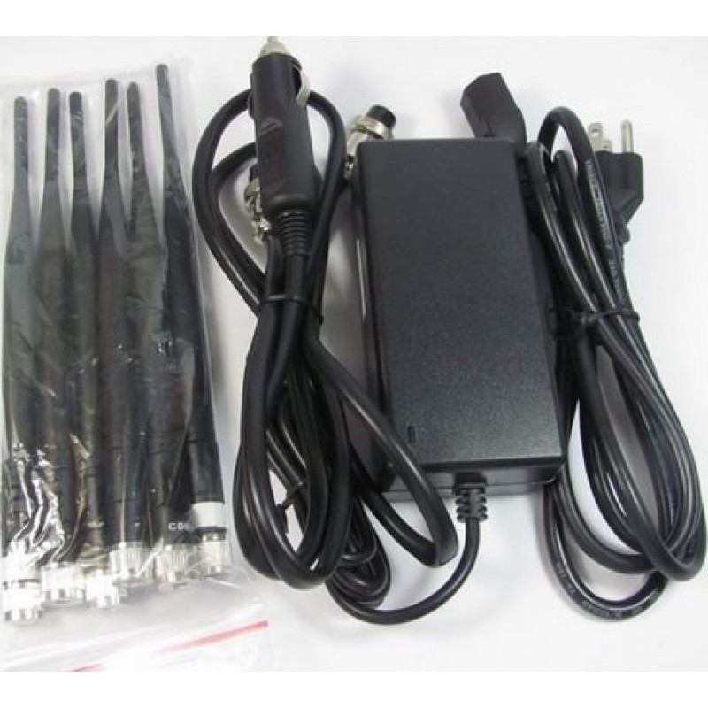 114,95 € Free Shipping   Cell Phone Jammers High power signal blocker. 6 Powerful antennas Cell phone 3G