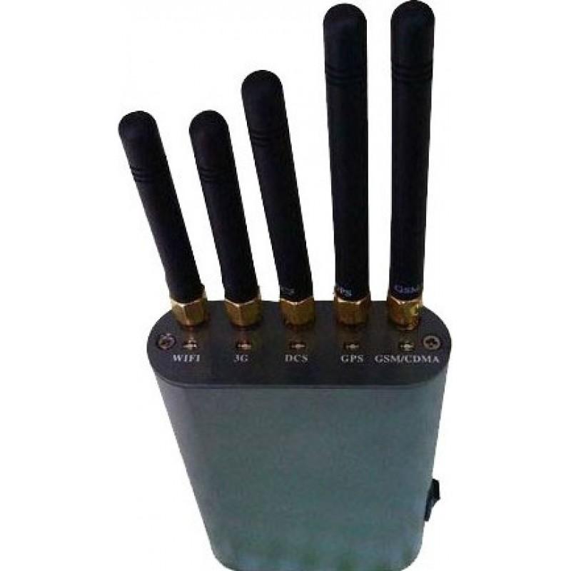 79,95 € 免费送货 | 手机干扰器 手持信号阻断器 GPS Handheld