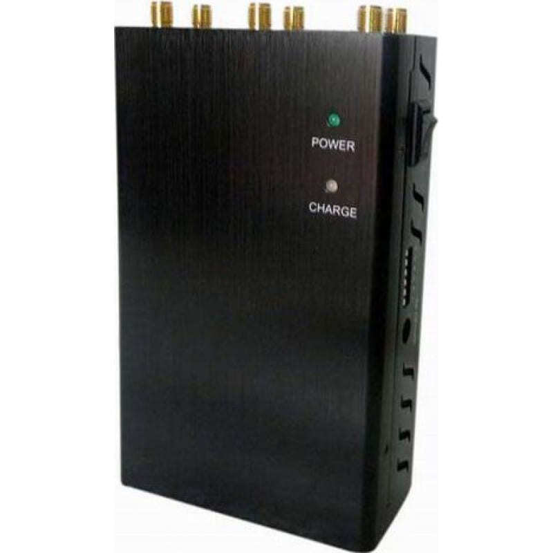 97,95 € Бесплатная доставка | Блокаторы мобильных телефонов 6 антенн. Выбираемый ручной блокатор сигналов GPS 3G Handheld