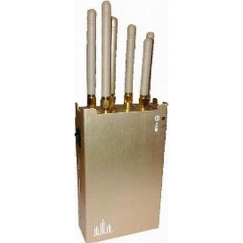 97,95 € 免费送货   手机干扰器 便携式手持信号拦截器 Cell phone 3G Handheld