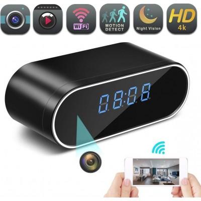 74,95 € 免费送货 | 时钟隐藏的相机 隐藏的间谍相机。时钟隐藏相机。无线。 IP监控摄像机。家庭安全