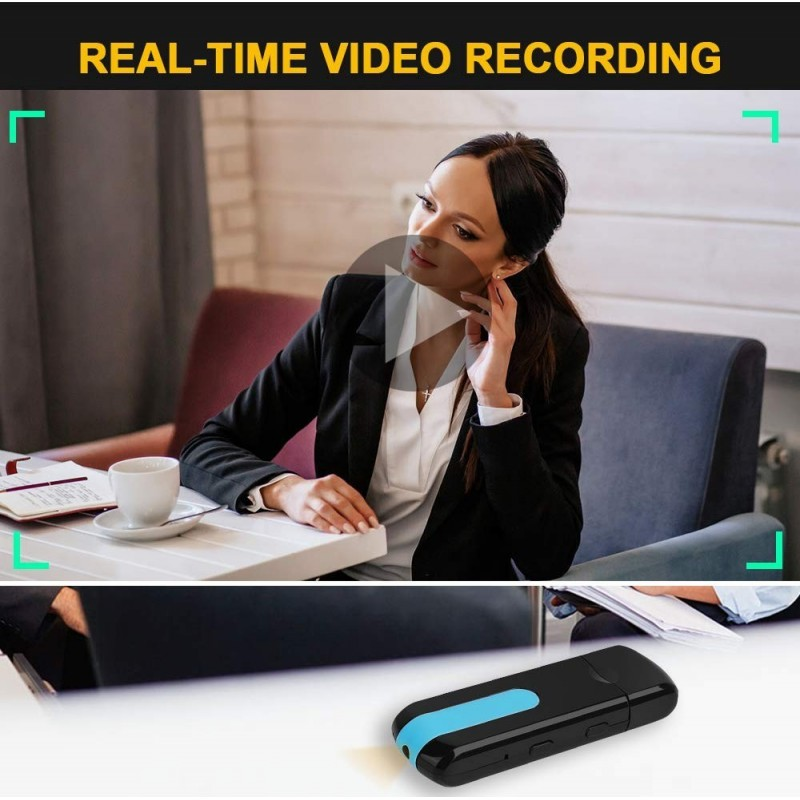 41,95 € Envoi gratuit | Clé USB Espion Clé USB. Caméra cachée portable. 16 GB. Détection de mouvement. Caméscope DV. Amélioration de l'habitat