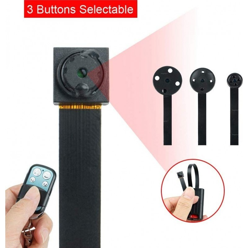 49,95 € Бесплатная доставка | Другие скрытые камеры Кнопка со скрытой камерой. Мини DV Видеокамера. 16 ГИГАБАЙТ. 1920x1080P HD. Определение движения. Безопасность