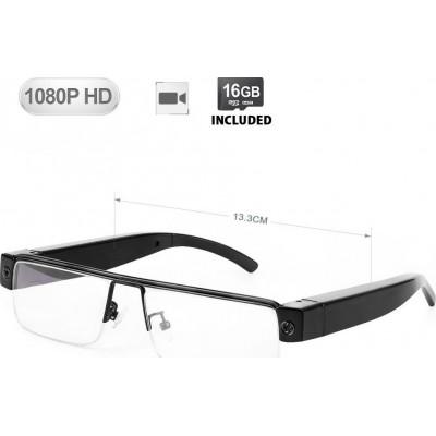 57,95 € 免费送货 | USB驱动器隐藏式摄像头 隐形相机眼镜。迷你DV摄录机。录像机。 16 GB。 1920x1080像素