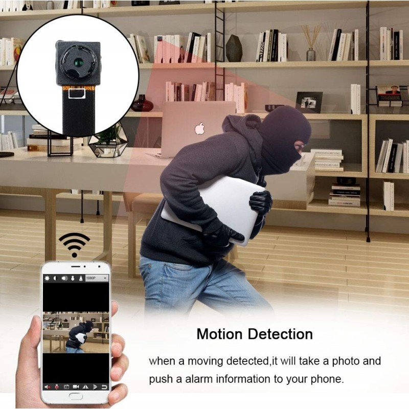 64,95 € Kostenloser Versand | Andere versteckte Kameras Mini-Spion-WiFi-Kamera. 1080P. Versteckte Kamera-Sicherheit. Kabellos. Tragbar. Nachtsicht