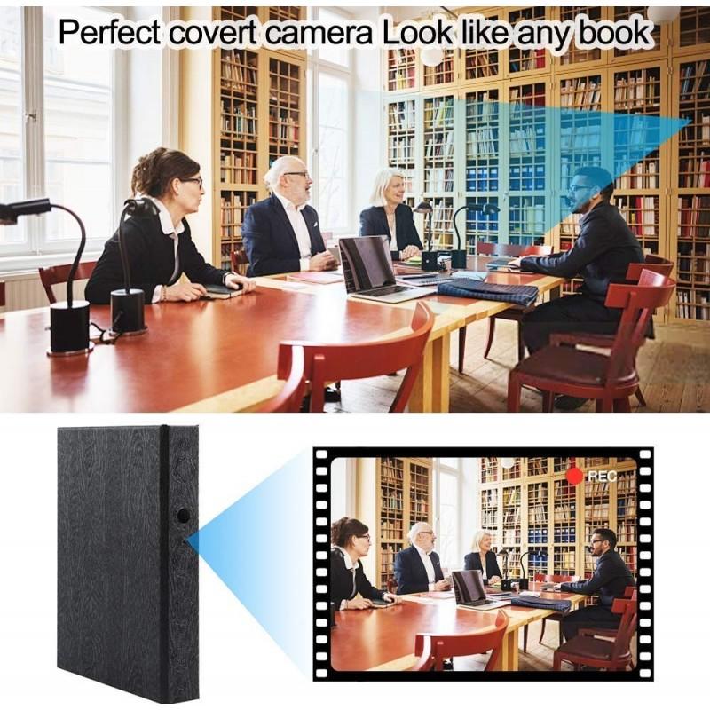 66,95 € Spedizione Gratuita | Gadget Spia Nascosti Cartella con telecamera spia. HD 1080P. Telecamera nascosta. Videoregistratore. Cam di sicurezza domestica