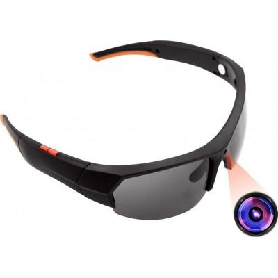 66,95 € Бесплатная доставка | Шпионские очки Солнцезащитные очки со скрытой камерой. Wireless. Блютус. 1080P. Hd. Встроенная память 32 ГБ