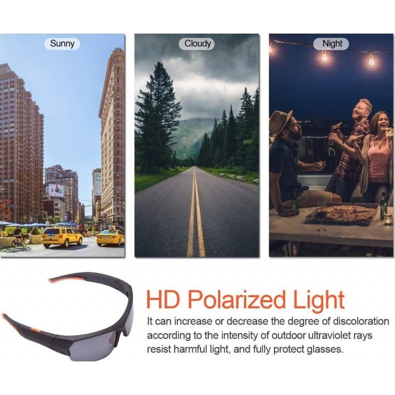 66,95 € Envoi gratuit | Lunettes Caméra Espion Lunettes de soleil avec caméra cachée. Sans fil. Bluetooth. 1080P. Haute définition. Mémoire intégrée de 32 Go