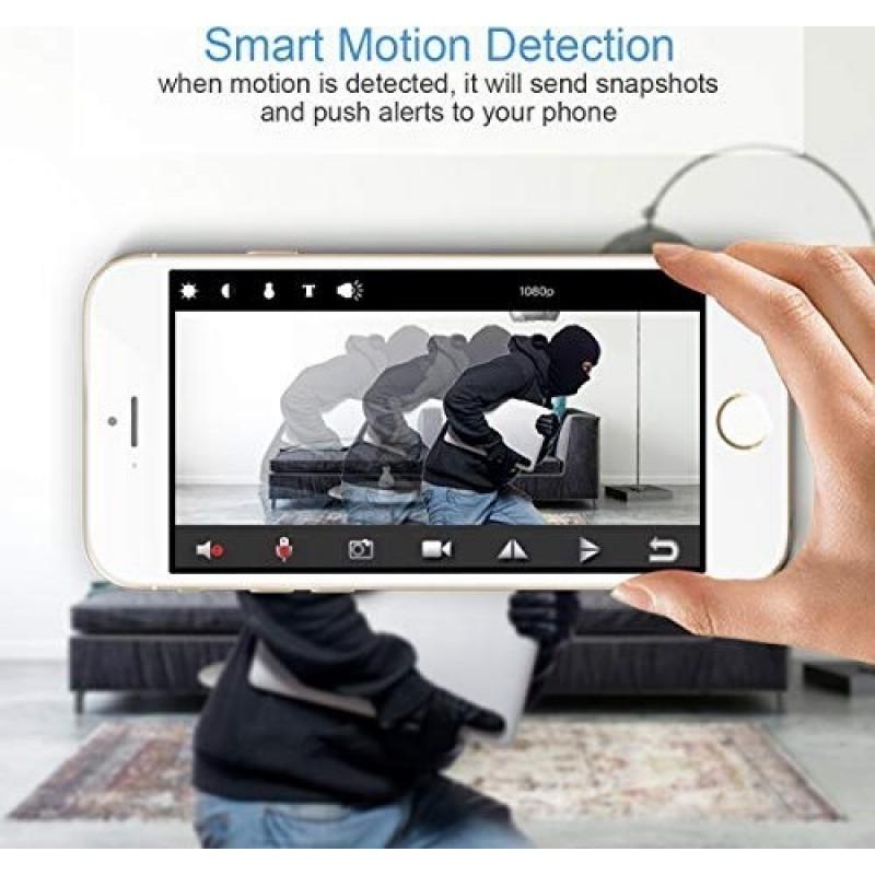 66,95 € Envoi gratuit | Montres Espion Réveil avec caméra cachée. TouchKey. DVR. Vision nocturne. Grand angle 160 °. Détection de mouvement. Wifi. haute définition