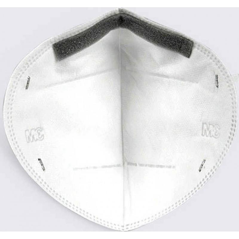 89,95 € Envío gratis | Caja de 10 unidades Mascarillas Protección Respiratoria 3M 9501 KN95. FFP2. Mascarilla autofiltrante. Protección respiratoria. Antipolvo. Antiaerosol. Plegable. PM2.5
