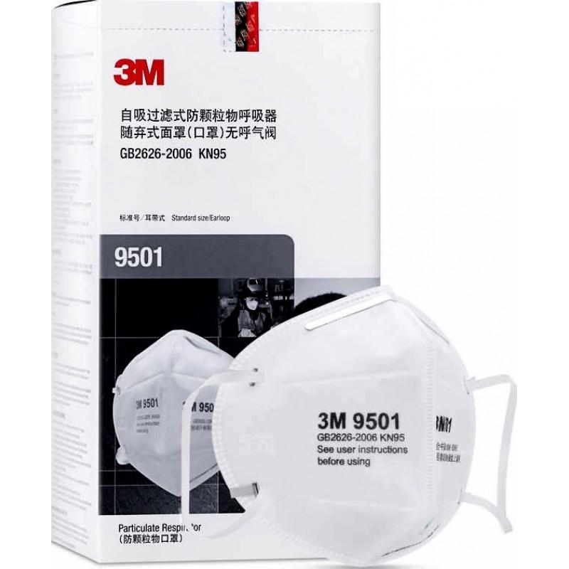 139,95 € Envoi gratuit   Boîte de 20 unités Masques Protection Respiratoire 3M Modèle 9501 KN95 FFP2. Masque de protection respiratoire. Masque anti-pollution PM2.5. Filtre à particules