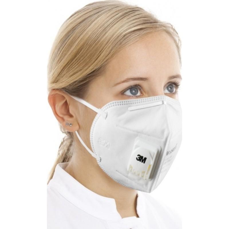 599,95 € Kostenloser Versand | 100 Einheiten Box Atemschutzmasken 3M 3M 9502V+ KN95 FFP2 Atemschutzmaske mit Ventil. PM2.5 Partikelfilter-Atemschutzgerät
