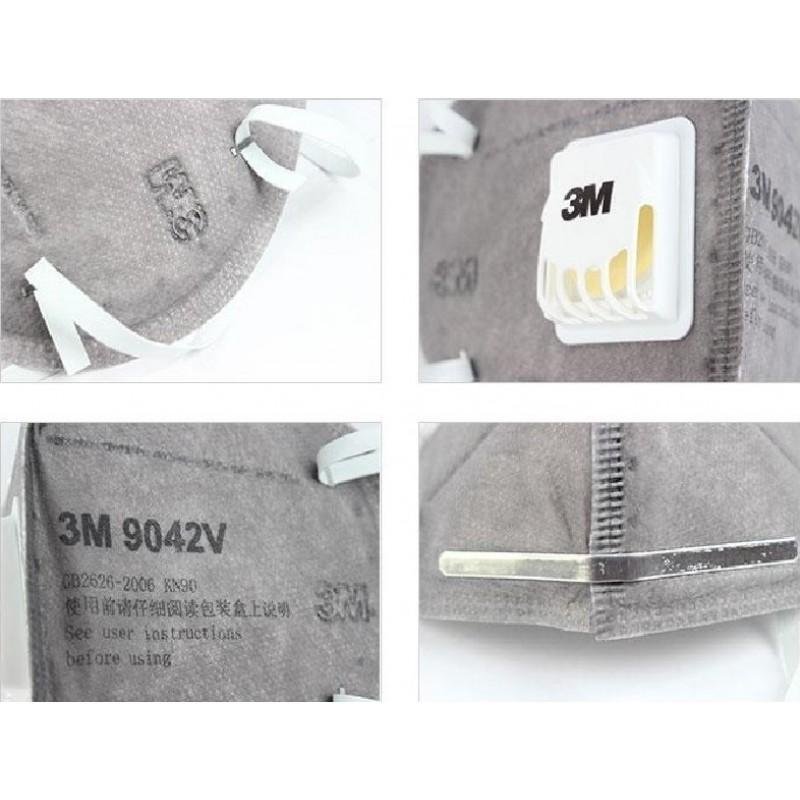 105,95 € 送料無料 | 10個入りボックス 呼吸保護マスク 3M 9542V KN95 FFP2。バルブ付き呼吸保護マスク。 PM2.5。粒子フィルターマスク