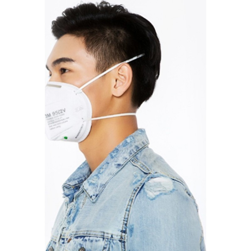 599,95 € Free Shipping | 100 units box Respiratory Protection Masks 3M 9502V KN95 FFP2. Respiratory protection mask with valve. PM2.5 Particle filter respirator