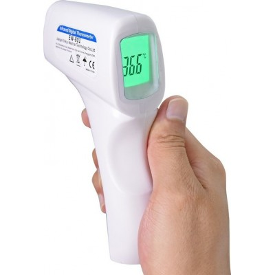 59,95 € Envoi gratuit | Masques Protection Respiratoire Thermomètre infrarouge sans contact pour la température corporelle