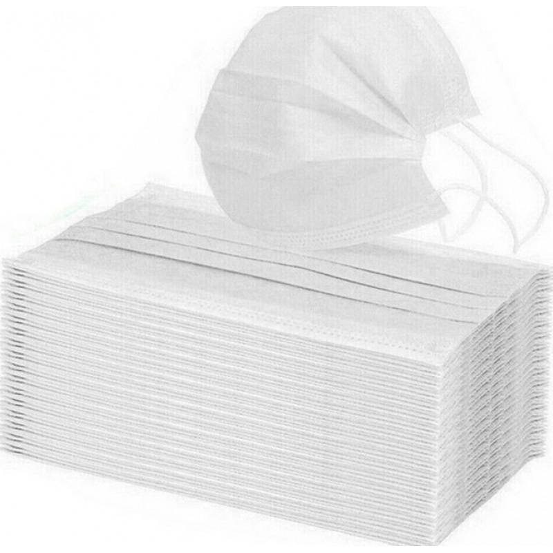 Caixa de 100 unidades Máscaras Proteção Respiratória Máscara descartável de crianças. Proteção respiratória. 3 camadas. Anti-gripe. Respirável macio. Material não tecido. PM2.5