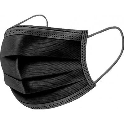 99,95 € Envío gratis | Caja de 500 unidades Mascarillas Protección Respiratoria Mascarilla sanitaria facial desechable. Protección respiratoria autofiltrante. Transpirable con filtro de 3 capas