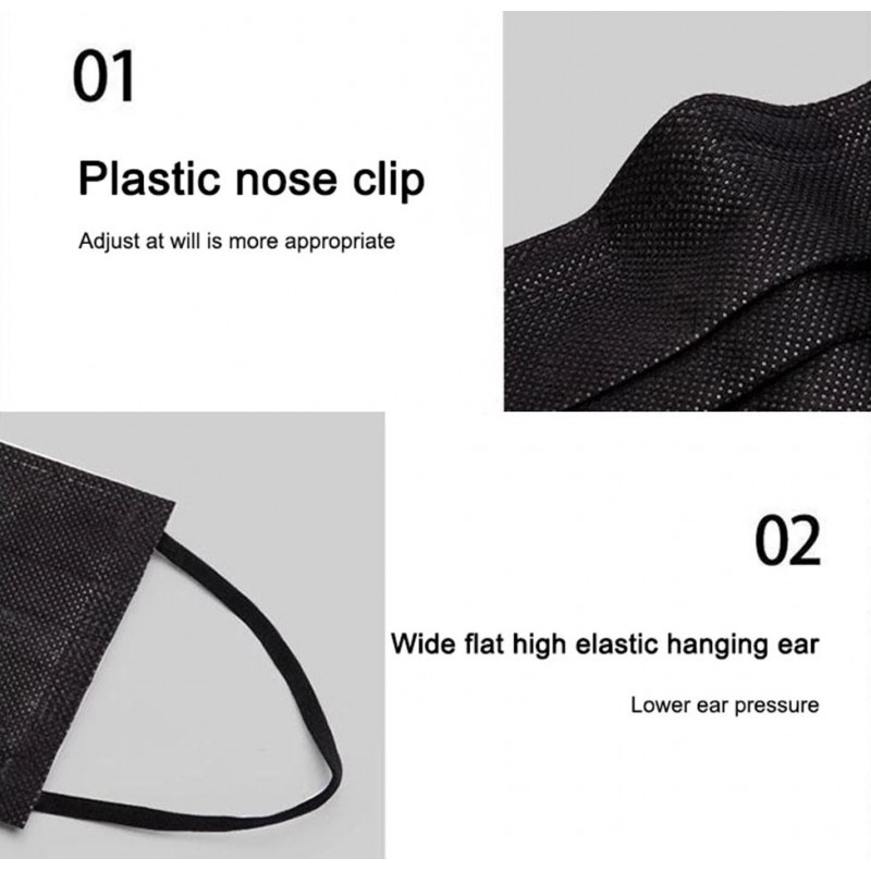 99,95 € Spedizione Gratuita   Scatola da 500 unità Maschere Protezione Respiratorie Maschera sanitaria monouso per il viso. Protezione respiratoria Traspirante con filtro a 3 strati