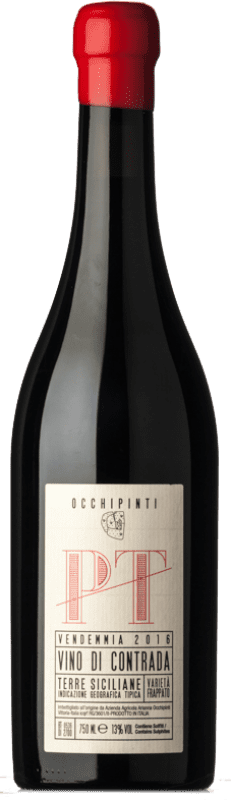 49,95 € Free Shipping   Red wine Arianna Occhipinti PT I.G.T. Terre Siciliane Sicily Italy Frappato Bottle 75 cl