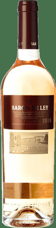 9,95 € Free Shipping | Rosé wine Barón de Ley Rosado Lágrima D.O.Ca. Rioja The Rioja Spain Grenache Bottle 75 cl