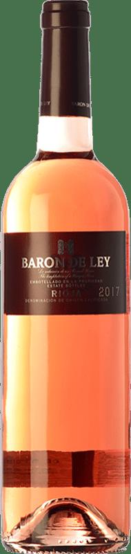 8,95 € Free Shipping | Rosé wine Barón de Ley Rosado D.O.Ca. Rioja The Rioja Spain Tempranillo, Grenache Bottle 75 cl