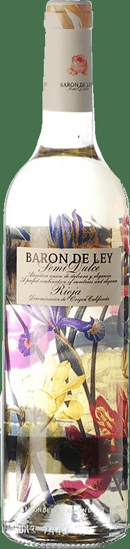 9,95 € Free Shipping | White wine Barón de Ley Blanco Semidulce Semi Dry D.O.Ca. Rioja The Rioja Spain Viura, Sauvignon White Bottle 75 cl