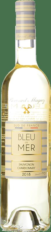 9,95 € Free Shipping   White wine Bernard Magrez Bleu de Mer I.G.P. Vin de Pays d'Oc Languedoc France Chardonnay, Sauvignon White Bottle 75 cl