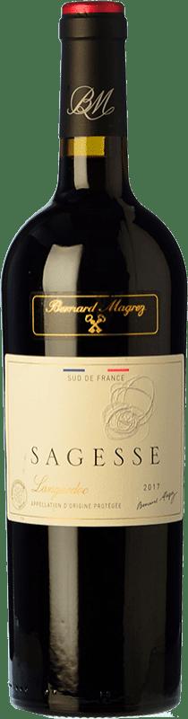 11,95 € Free Shipping   Red wine Bernard Magrez Sagesse Roble I.G.P. Vin de Pays Languedoc Languedoc France Syrah, Grenache, Carignan, Mourvèdre Bottle 75 cl