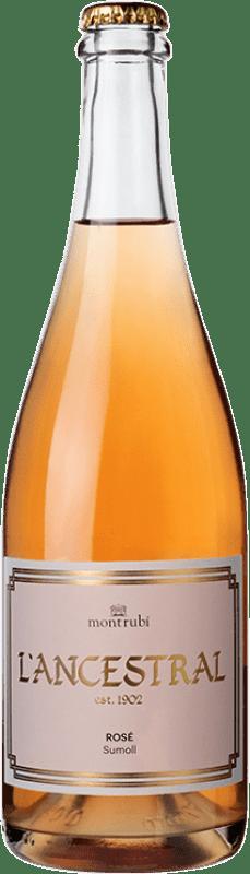 15,95 € Free Shipping | Rosé sparkling Mont-Rubí l'Ancestral Rosé Brut Spain Sumoll Bottle 75 cl