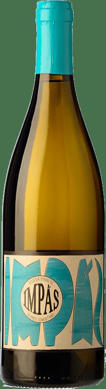 10,95 € Free Shipping   White wine Pirineos Impás Crianza D.O. Somontano Catalonia Spain Viognier Bottle 75 cl