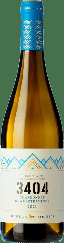 5,95 € Free Shipping   White wine Pirineos 3404 Blanco D.O. Somontano Catalonia Spain Chardonnay, Gewürztraminer Bottle 75 cl