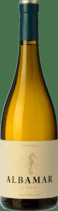 15,95 € Free Shipping | White wine Albamar O Sebal Spain Albariño Bottle 75 cl