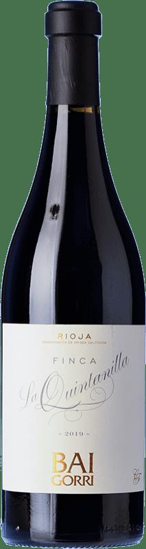 34,95 € Free Shipping   Red wine Baigorri Finca La Quintanilla Reserva D.O.Ca. Rioja The Rioja Spain Tempranillo Bottle 75 cl