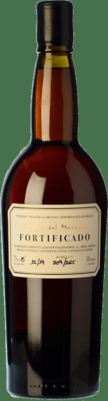 88,95 € Free Shipping | Fortified wine Soagranorte Suertes del Marqués Fortificado D.O. Valle de la Orotava Canary Islands Spain Listán White Bottle 75 cl