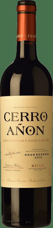 21,95 € Free Shipping | Red wine Olarra Cerro Añón Gran Reserva D.O.Ca. Rioja The Rioja Spain Tempranillo, Grenache, Graciano, Mazuelo Bottle 75 cl